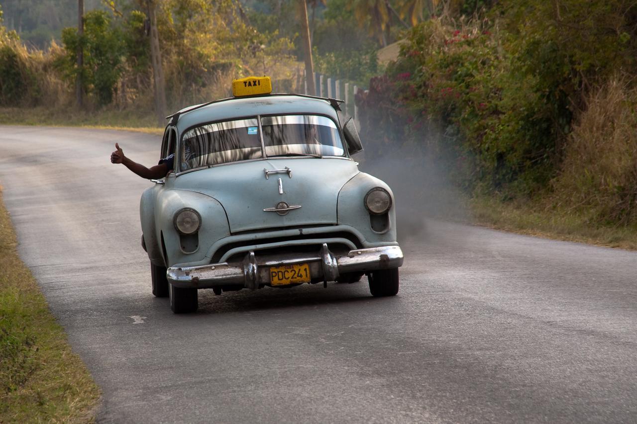 Typisch kubanisches Taxi